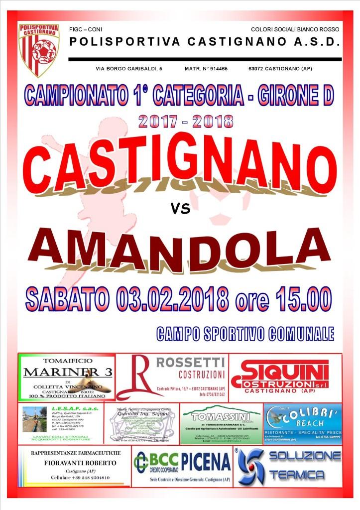 18 - CASTIGNANO - AMANDOLA