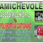 Amichevole Ascoli Picchio 17-01-18