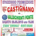 SPAREGGIO CASTIGNANO - VALDICHIENTI PONTE