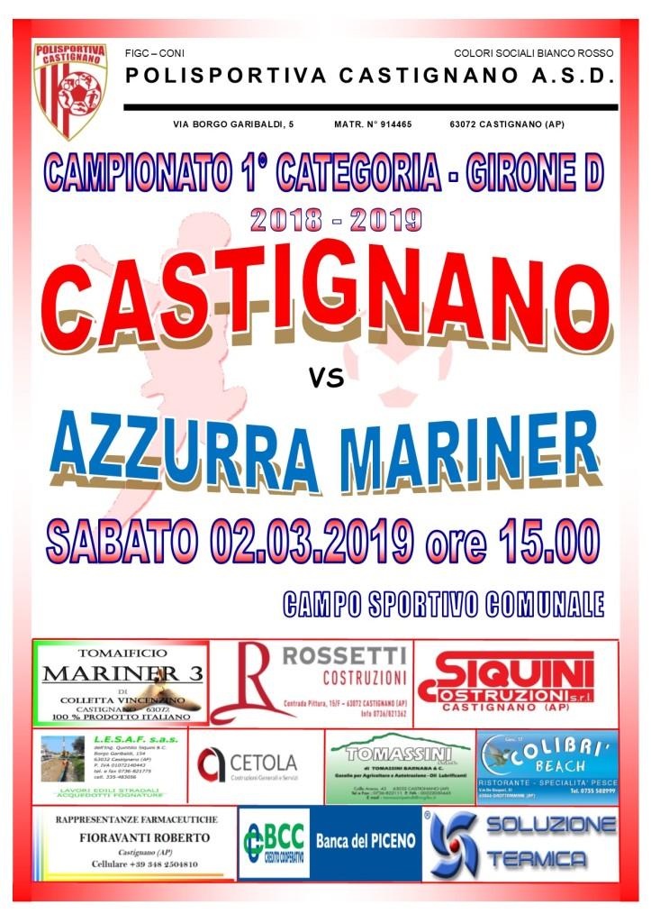 23 - CASTIGNANO - AZZURRA MARINER