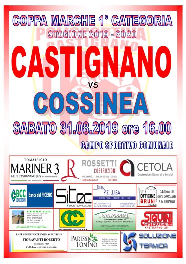 COPPA MARCHE CASTIGNANO-COSSINEA