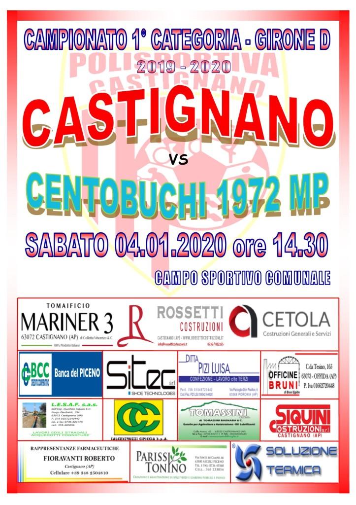 16° CASTIGNANO - CENTOBUCHI MP