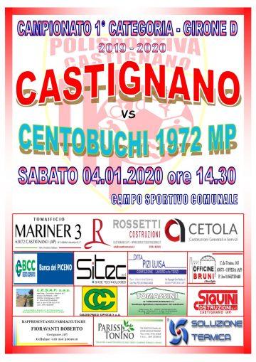 17° GIORNATA CASTIGNANO – CENTOBUCHI MP 1972
