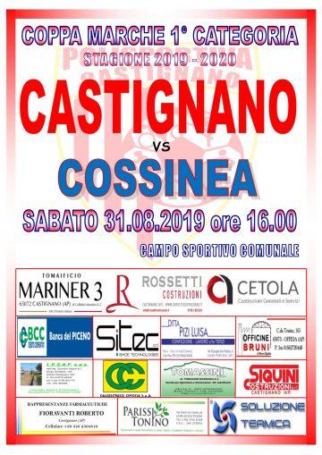 Coppa Marche CASTIGNANO – COSSINEA