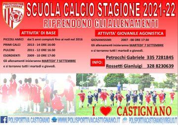 SCUOLA CALCIO 2021-2022